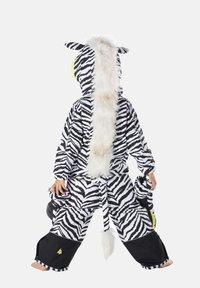 WeeDo - Snowsuit - zebra white - 1