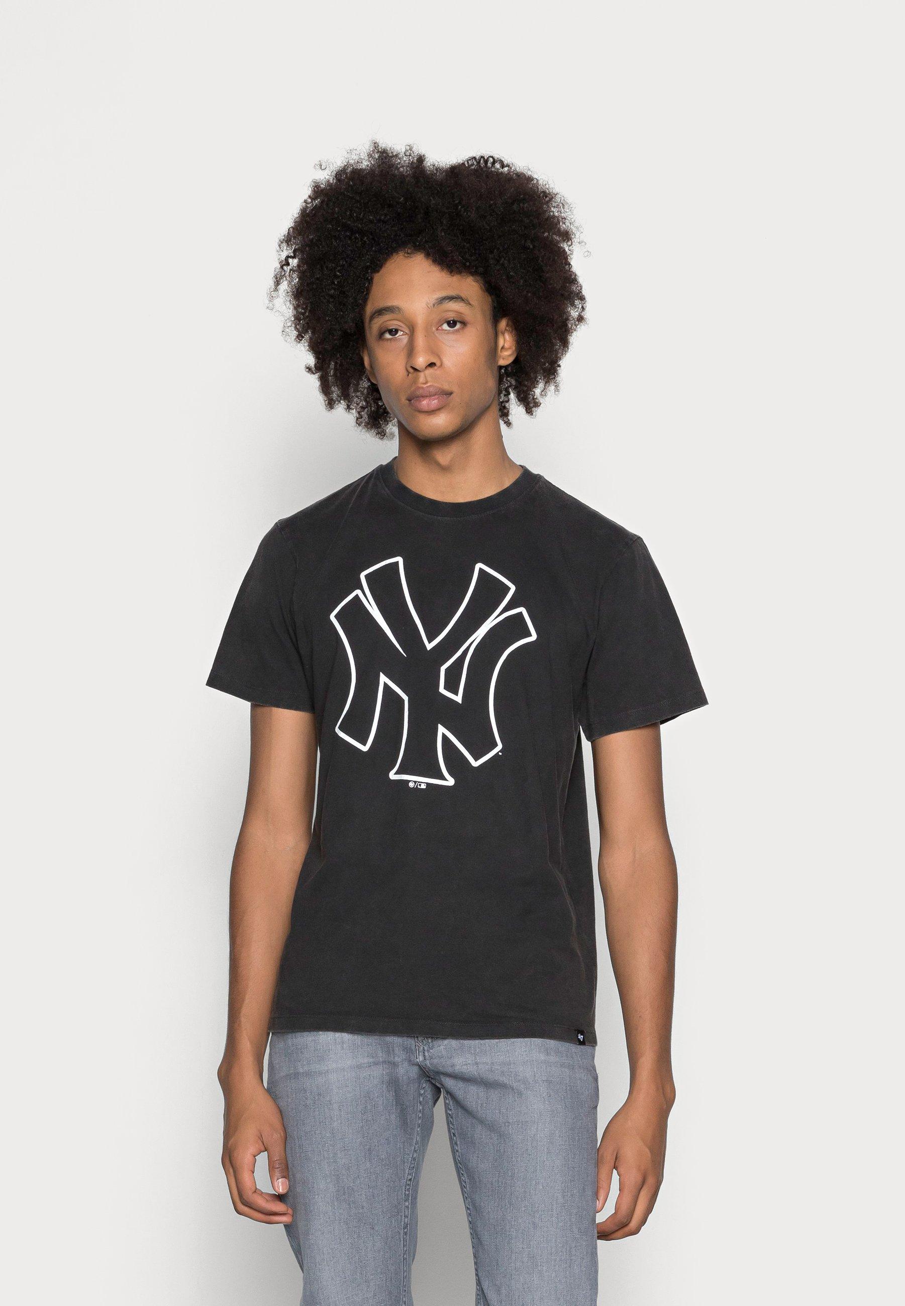 Herren NEW YORK YANKEES WASHED ECHO TEE - T-Shirt print