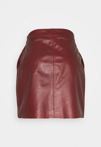 DAY Birger et Mikkelsen - DAY TODAY - Leather skirt - fired brick - 1