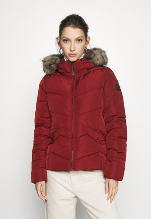 ONLROONA QUILTED JACKET - Vinterjakke - fired brick