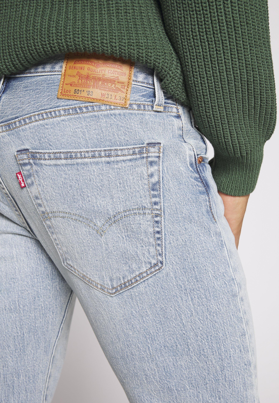 2020 Unisex Miesten vaatteet Sarja dfKJIUp97454sfGHYHD Levi's® 501® '93 STRAIGHT Straight leg -farkut light-blue denim