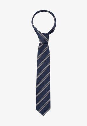 Tie - blau/grau