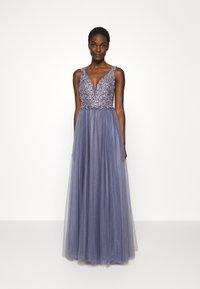 Luxuar Fashion - Společenské šaty - rauchblau - 0