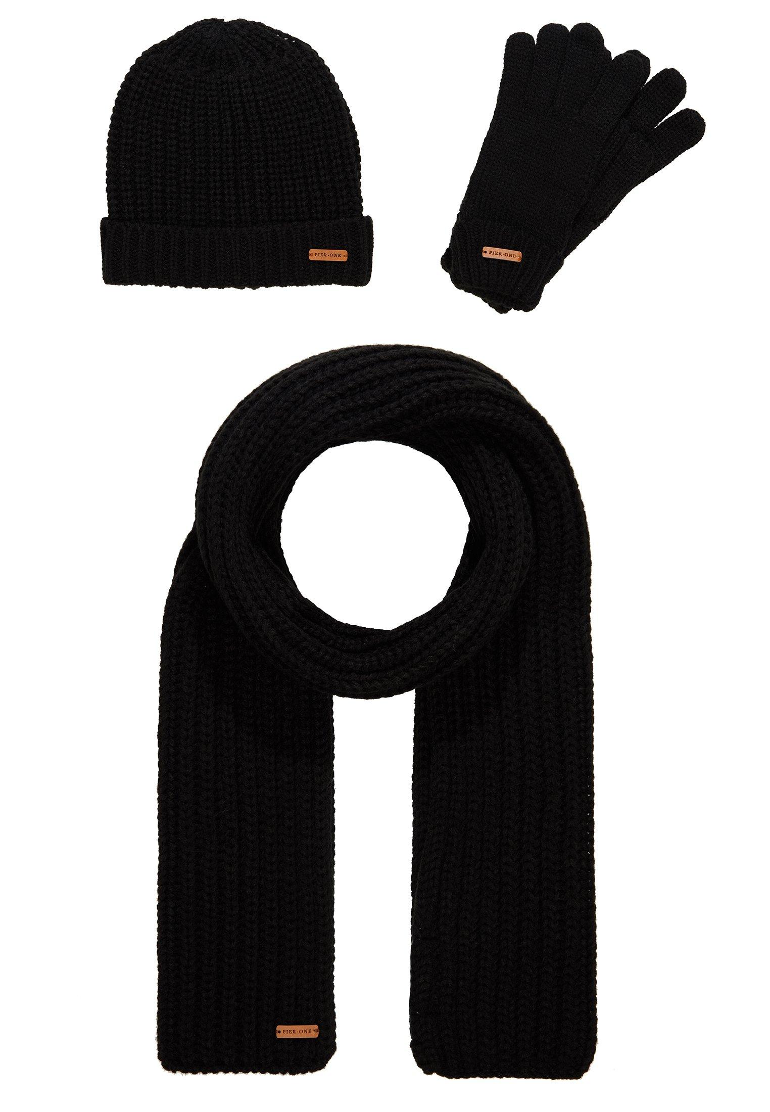 Pier One Schal - Black/schwarz
