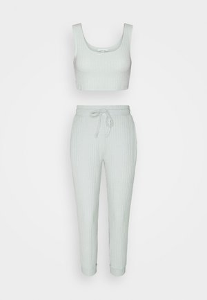 NEW COSY BRUSHED JOGGER SET - Top - ice blue