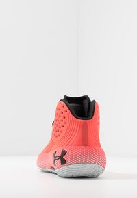 Under Armour - Basketball shoes - beta/halo gray/black - 3