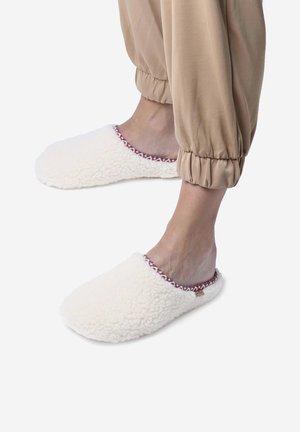 Slippers - blanc
