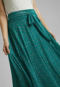 Esprit - Maxi skirt - teal green - 4