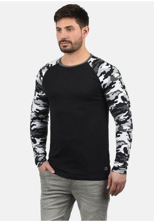 Maglietta a manica lunga - black grey