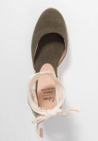 Castañer - CARINA  - High heeled sandals - verde musgo - 3