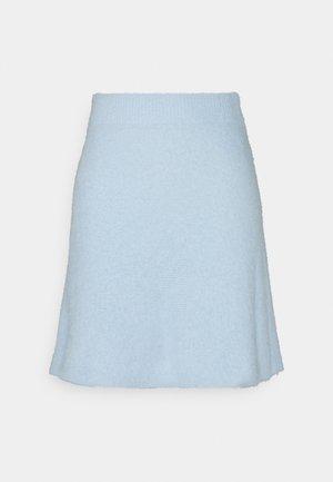 VIHELLY SKATER - Gonna a campana - cashmere blue