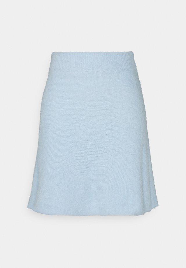 VIHELLY SKATER - A-line skjørt - cashmere blue
