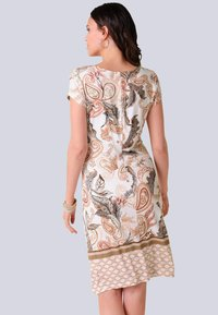 Alba Moda - Jersey dress - rosé,braun - 2