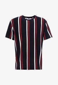 Topman - Print T-shirt - navy - 3