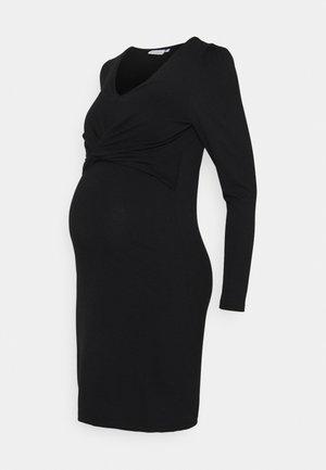 MLMACY DRESS - Jerseyklänning - black