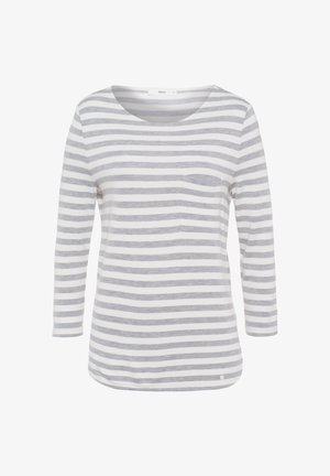 STYLE BONNIE - Long sleeved top - light grey mel.