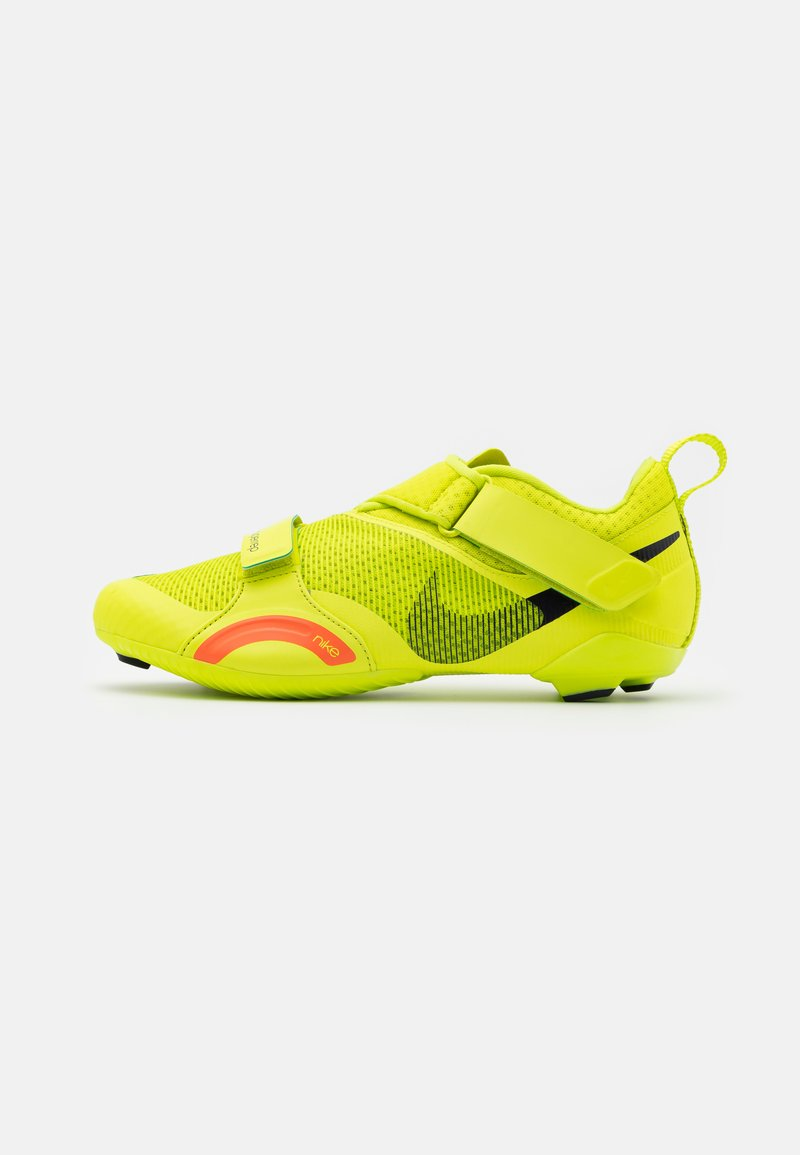 Nike Performance - SUPERREP CYCLE - Chaussures de cyclisme - cyber/blackened blue/bright mango