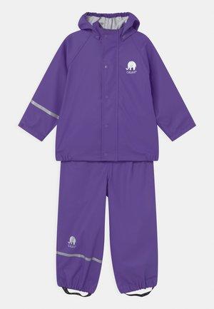 SET UNISEX - Regnjacka - purple
