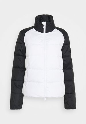 BLOUSON JACKET - Light jacket - off white/black
