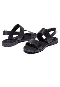 Timberland - Varrelliset sandaalit - black - 1
