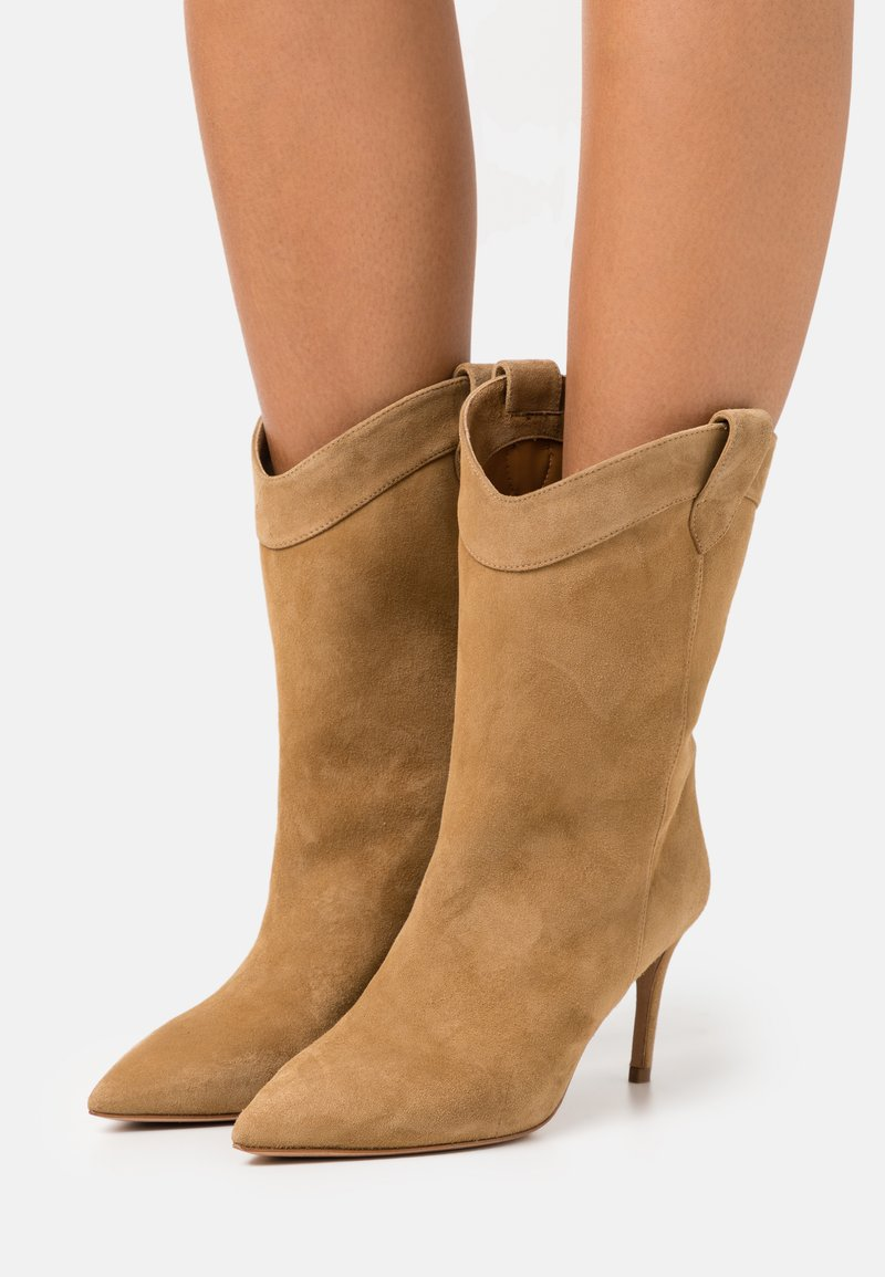 Pura Lopez - Cowboy/Biker boots - beige