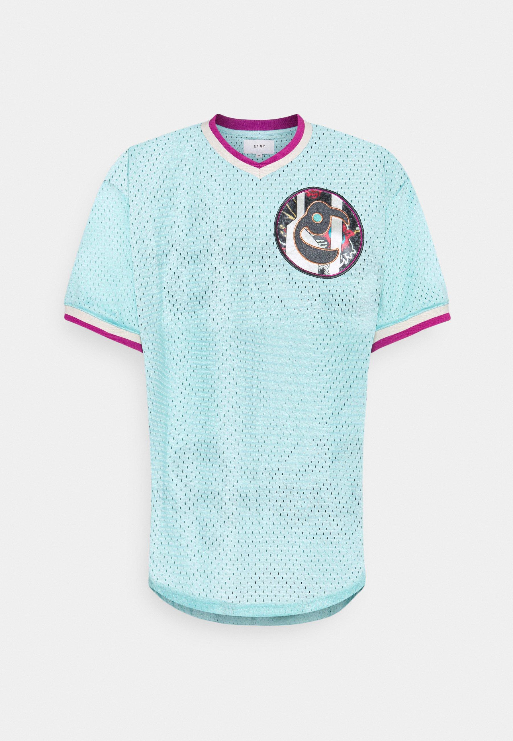 Men HOPE UNSEEN V NECK TEE UNISEX - Print T-shirt