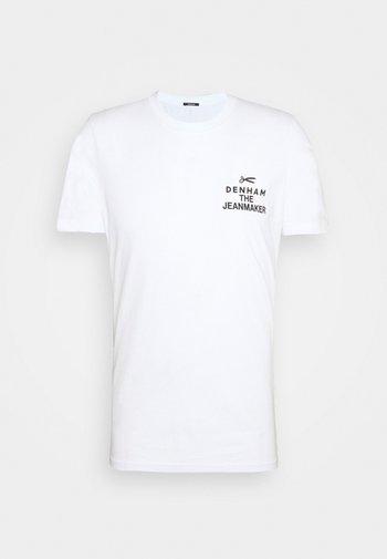 MATTHIAS TEE UNISEX - T-shirt med print - white
