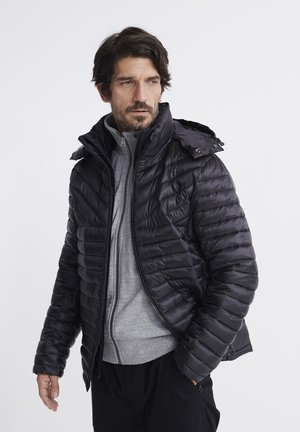 SUPERDRY DESERT ALCHEMY FUJI JACKET - Winterjas - black
