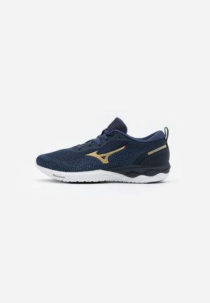 WAVE REVOLT - Neutral running shoes - mood indigo/ospace