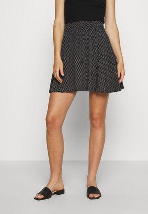 VMSIMPLY EASY SKATER SKIRT - A-snit nederdel/ A-formede nederdele - black
