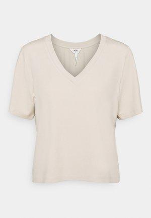 OBJJADE - Print T-shirt - sandshell