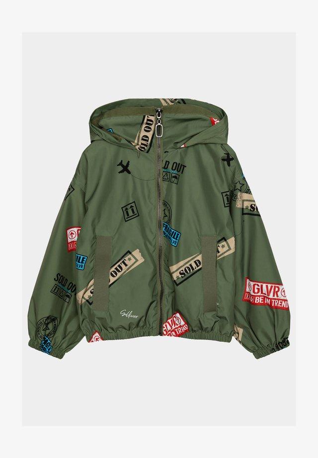 Regenjas - khaki