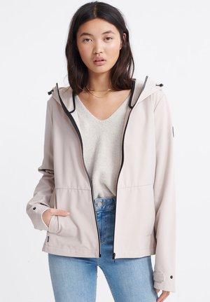 Summer jacket - silver cloud