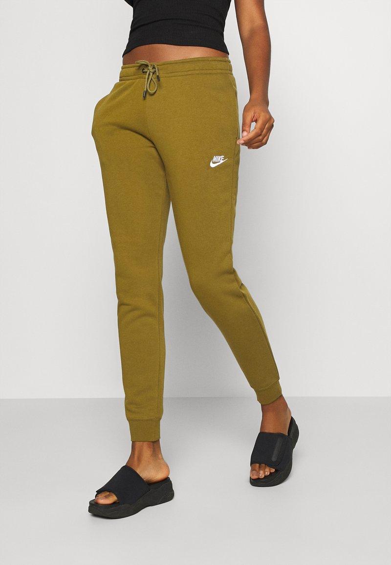 Nike Sportswear - Tracksuit bottoms - olive flak/white