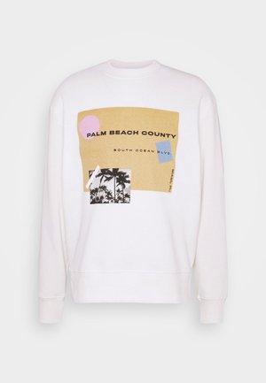 COUNTY - Sweatshirt - white