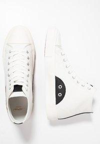 Ed Hardy - FIERCE TOP - Sneakers high - white - 1