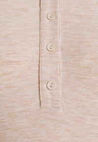 Glamorous Bloom - MIDI DRESS WITH SLIM FIT SLEEVES OPEN PLACKET COLLAR  - Maxi dress - light beige - 2