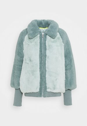 AUGUSTA BASEBALL JACKET - Winterjas - icy blue