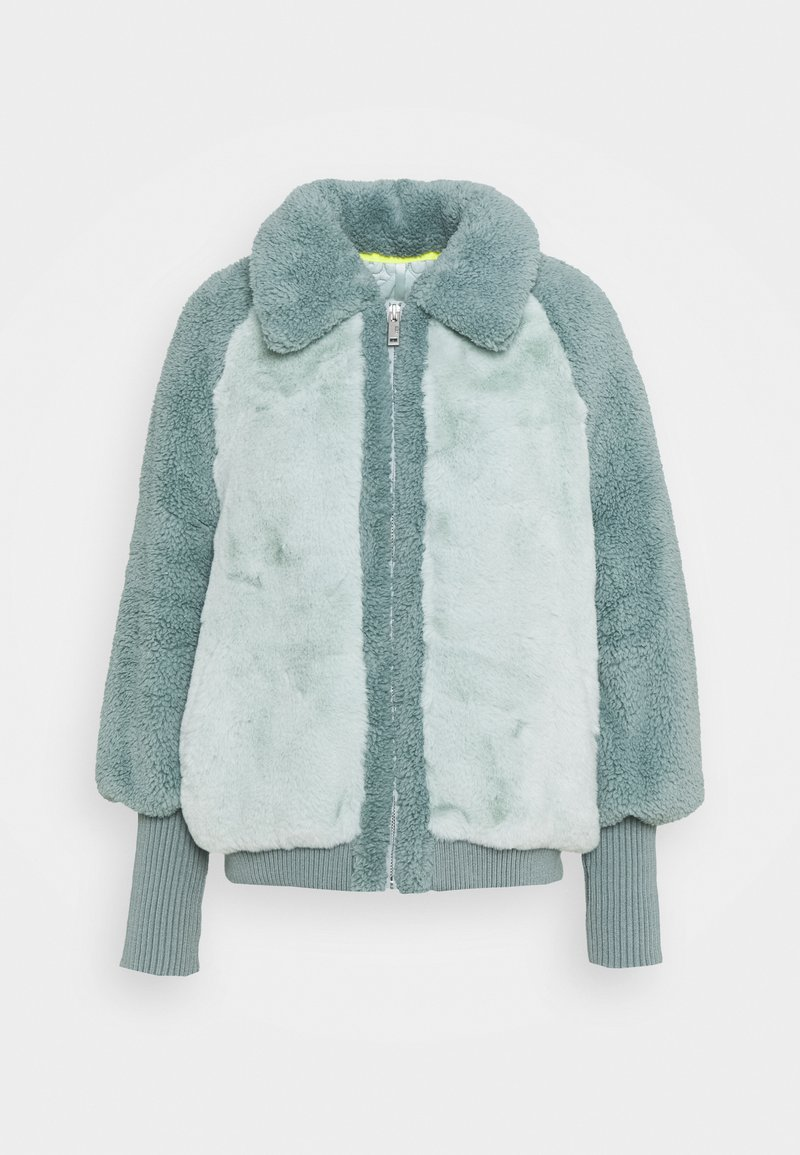 UGG - AUGUSTA BASEBALL JACKET - Winterjas - icy blue
