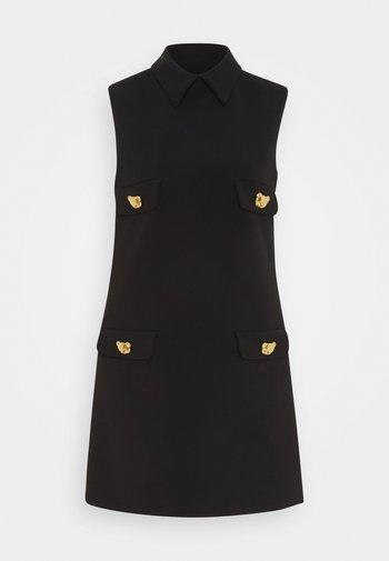 UNITARD - Robe fourreau - black