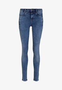 TOM TAILOR DENIM - JONA - Jeans Skinny Fit - used mid stone blue denim - 6