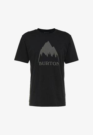 CLASSIC MOUNTAIN HIGH - Print T-shirt - true black