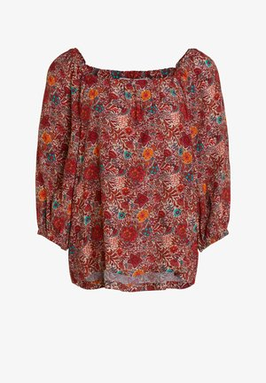Blouse - red yellow