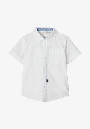 NAME IT HEMD KURZÄRMELIGES BAUMWOLL - Shirt - bright white