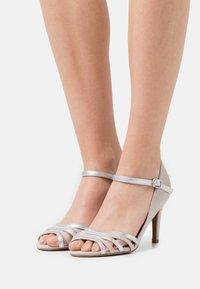 Anna Field - COMFORT - High heeled sandals - light grey - 0