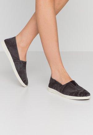 Scarpe senza lacci - anthracite