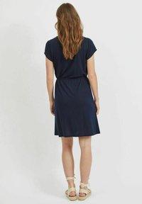 Vila - VIMOONEY STRING - Jersey dress - navy blazer - 2