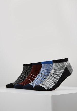 4 PACK - Sportovní ponožky - black/green/blue