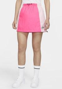 Nike Sportswear - Áčková sukně - hyper pink/pink foam - 5
