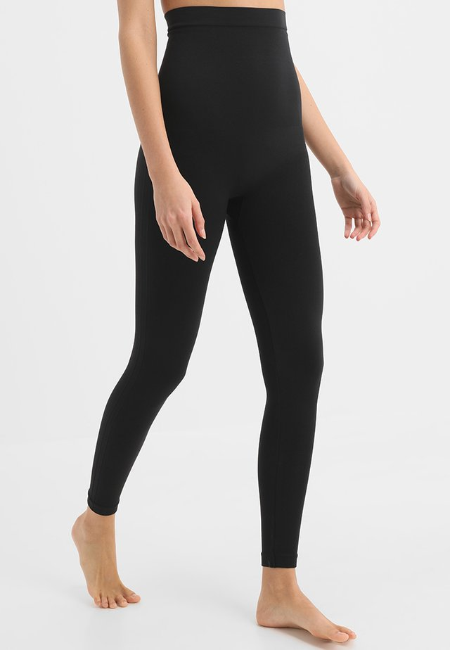 HIGH WAISTED LOOK AT ME  - Leggings - Strümpfe - very black
